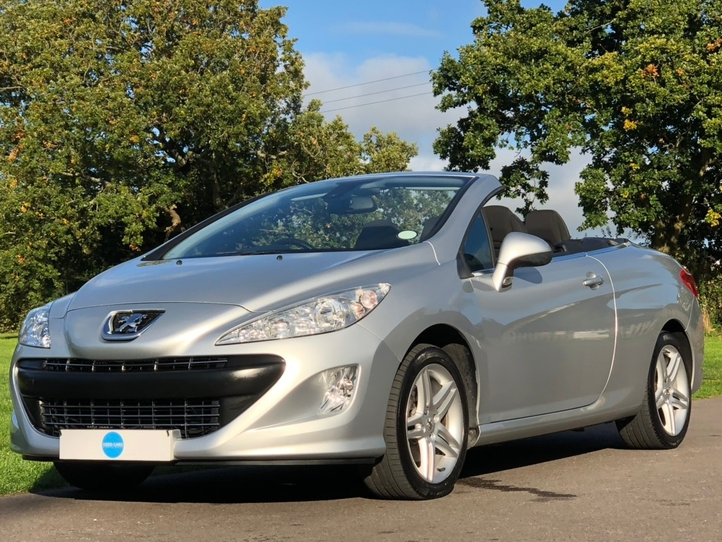PEUGEOT 2010 Silver PEUGEOT 308 CC 1.6 THP SE 2dr for sale for £4194 in Bristol, City Of Bristol