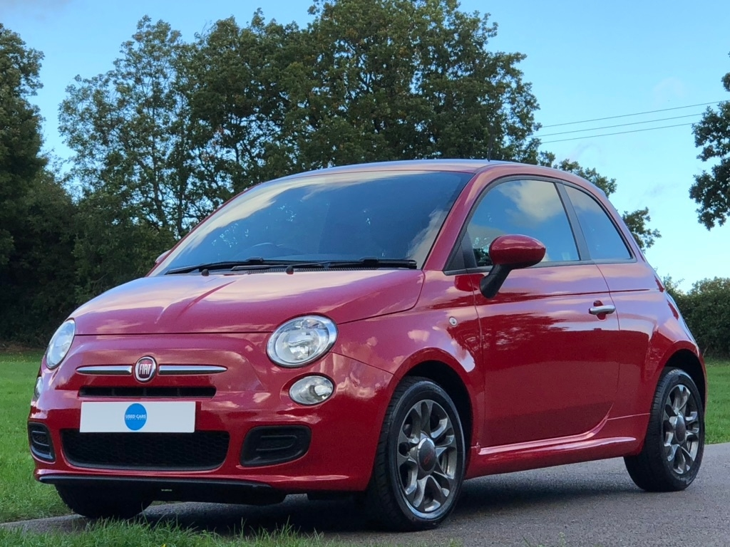 FIAT 2013 Red FIAT 500 1.2 S (s/s) 3dr for sale for £4295 in Bristol, City Of Bristol